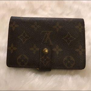 Louis Vuitton Monogram Bifold Wallet Vintage